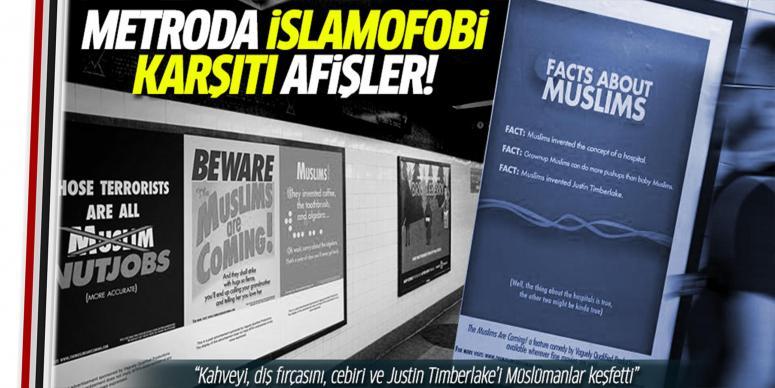 İslamofobi karşıtı afişler
