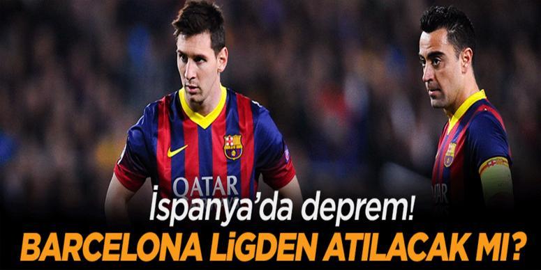 Barcelona Ligden atılabilir!