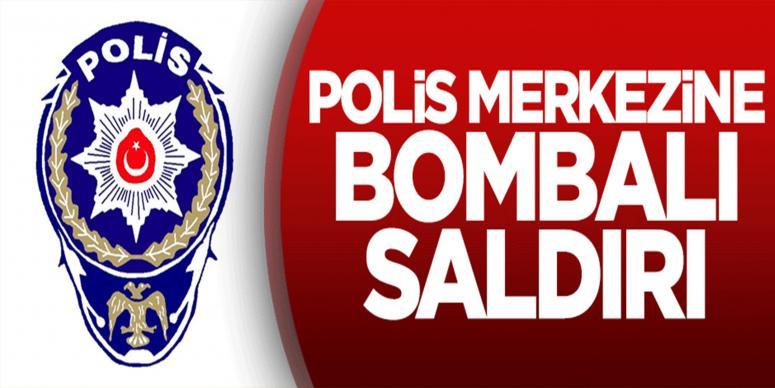 Polis merkezine bombalı saldırı! Yaralılar var