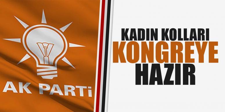 AK Parti İl Kadın Kolları Büyük Kongreye hazır