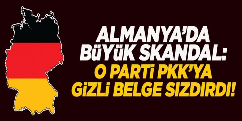 Gizli belgeleri PKK'ya sızdırmakla suçlandı