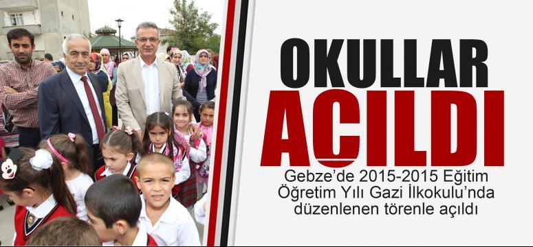 Yeni öğretim yılı Gazi İlkokulu'nda açıldı