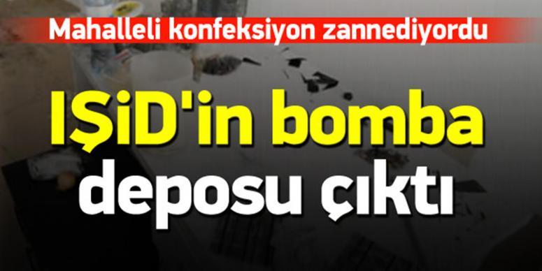İşte IŞİD'in kullandığı bomba deposu!