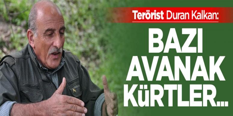 Terörist Duran Kalkan'dan Kürt aydınlara hakaret!