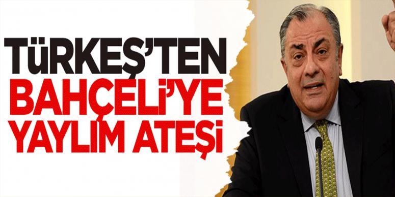 Türkeş'ten Bahçeli'ye bombardıman!