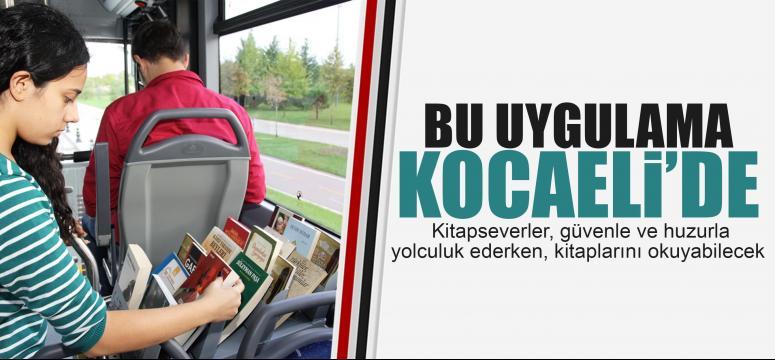 Otobüste kitaplık uygulaması