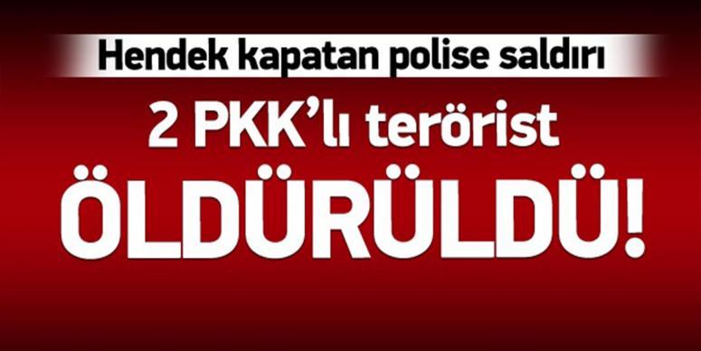 Hakkari'de çatışma: 2 PKK'lı öldürüldü!