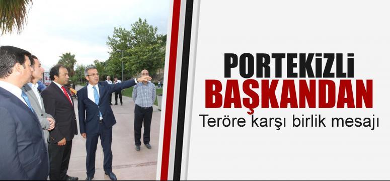 Portekizli Başkan'dan terörizme karşı işbirliği mesajı
