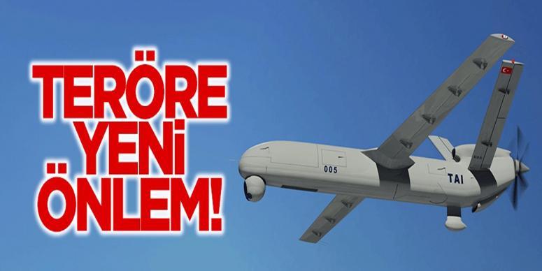 Emniyete yerli İnsansız Hava Aracı