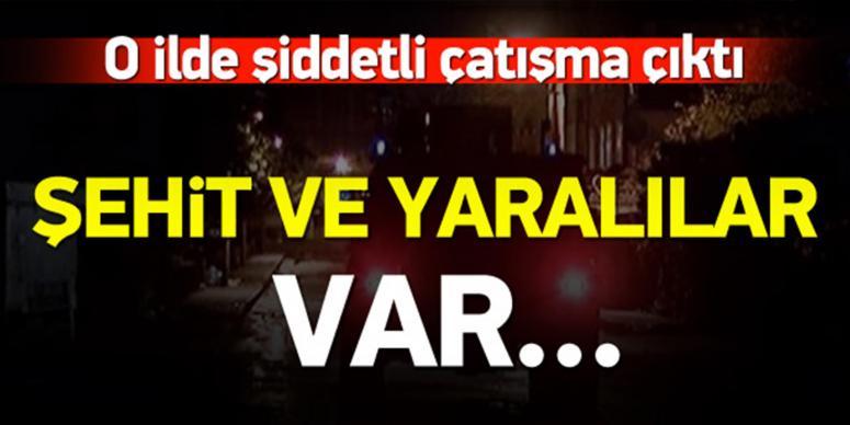 Diyarbakır'da şiddetli çatışma: 2 polis şehit