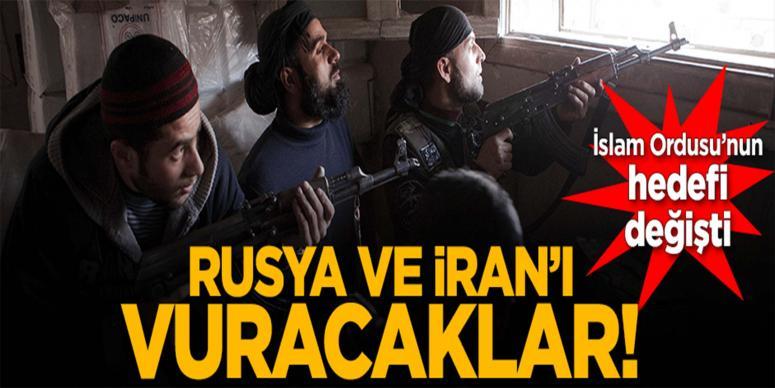 Muhaliflerin yeni hedefi Rusya ve İran!