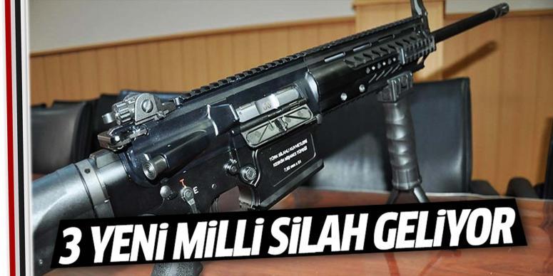 3 yeni milli silah geliyor