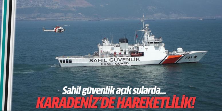 Karadeniz'de hareketlilik