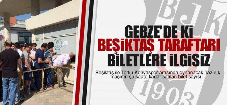 Beşiktaş taraftarı görülmüyor