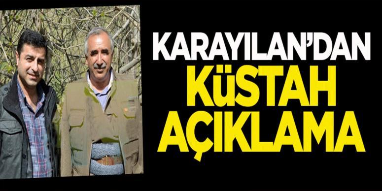 PKK'yı Karayılan'dan itiraf: Her sey Türkiye'yi bölmek için!