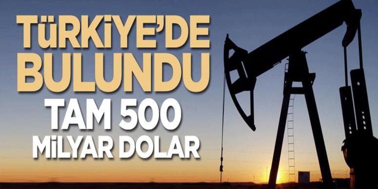 Türkiye'de bulundu! 500 milyar dolar değerinde