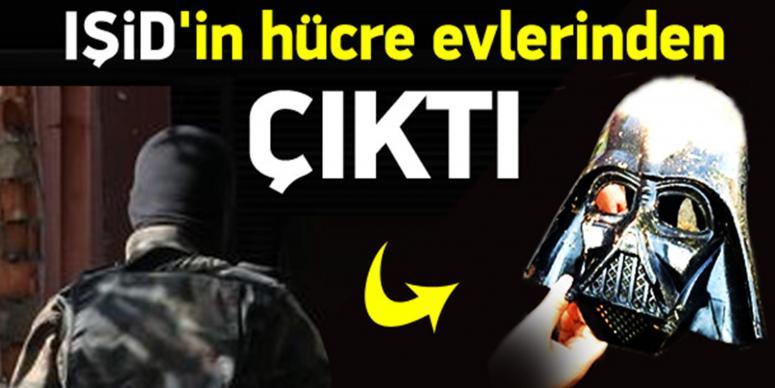 IŞİD'in hücre evlerinde çarpıcı maskeler