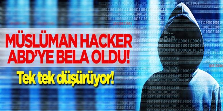 Müslüman hacker ABD'ye bela oldu!