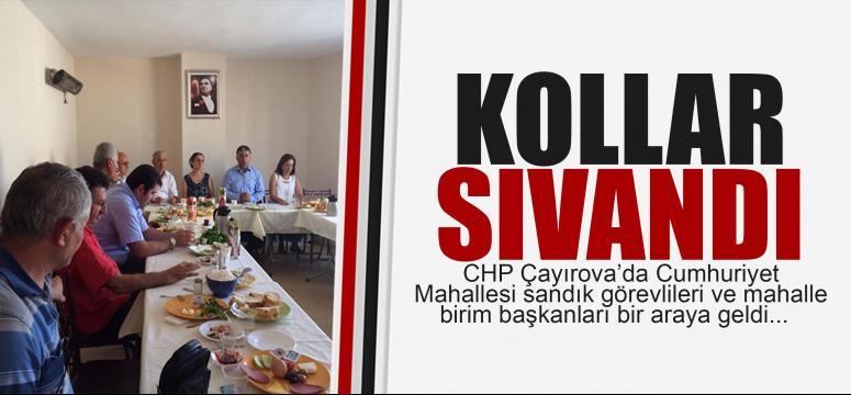 CHP Çayırova'da seçime hazır