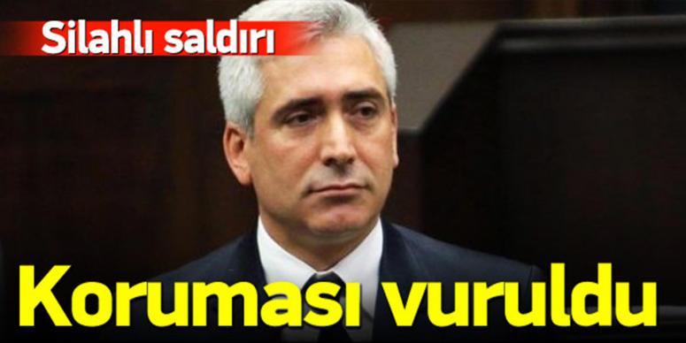Galip Ensarioğlu'nun korumasına silahlı saldırı