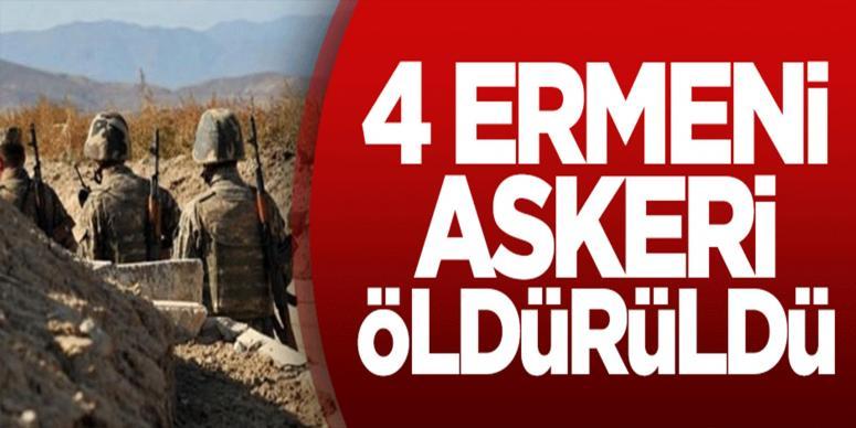 4 Ermeni askeri öldürüldü