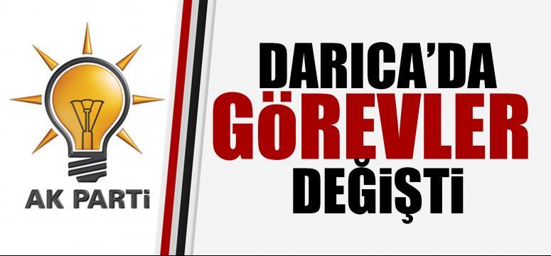 AK Parti Darıca'da görev değişiklikleri