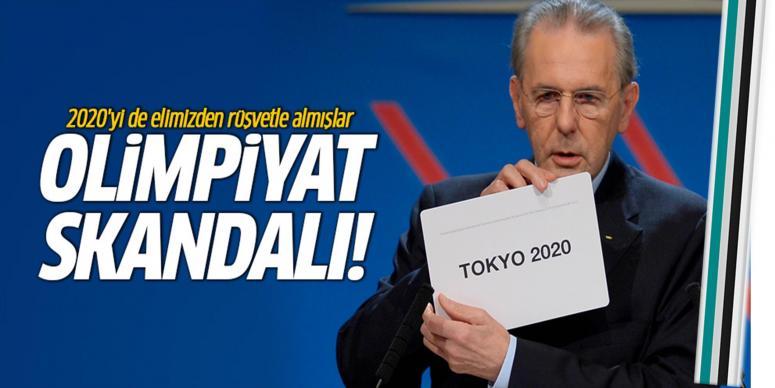 2020 Olimpiyatlarını elimizden rüşvetle almışlar