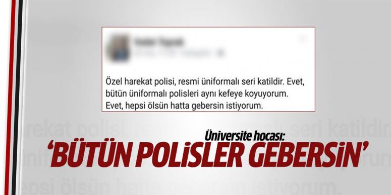 Üniversite hocasından skandal sözler!