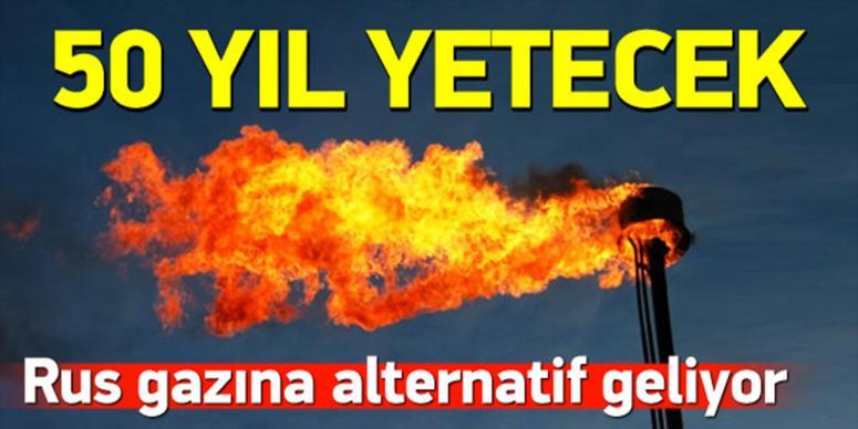 Rus gazına alternatif geliyor