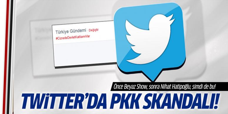 Twitter'da PKK propagandası skandalı