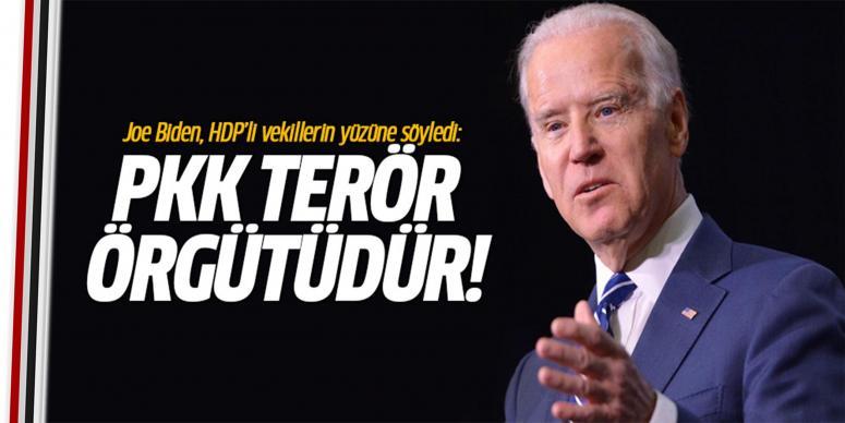 PKK bir terör örgütüdür