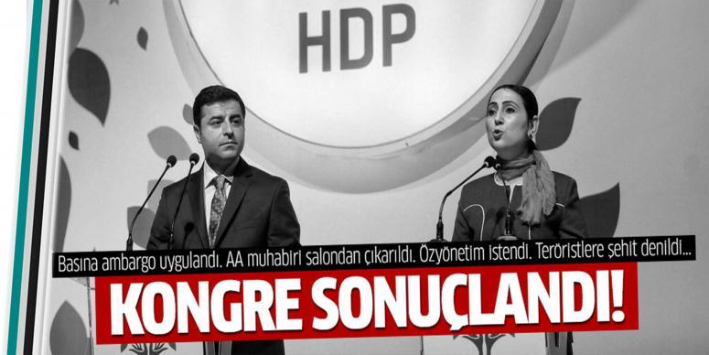 Demirtaş ve Yüksekdağ yeniden Eş Genel Başkanı oldu