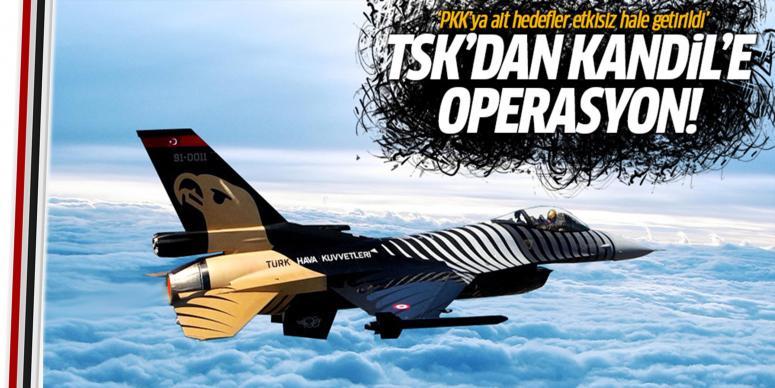 TSK'dan Kandil'e operasyon