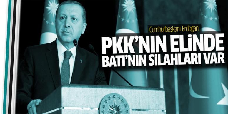 PKK'nın elinde Batı'nın silahları var
