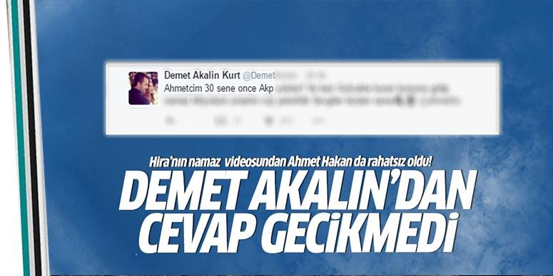 Ahmet Hakan'a namaz cevabı