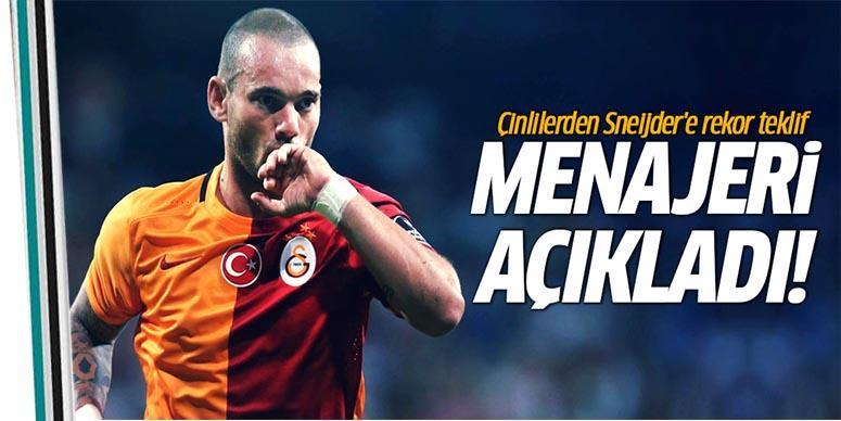 Çinliler'in yeni hedefi Sneijder