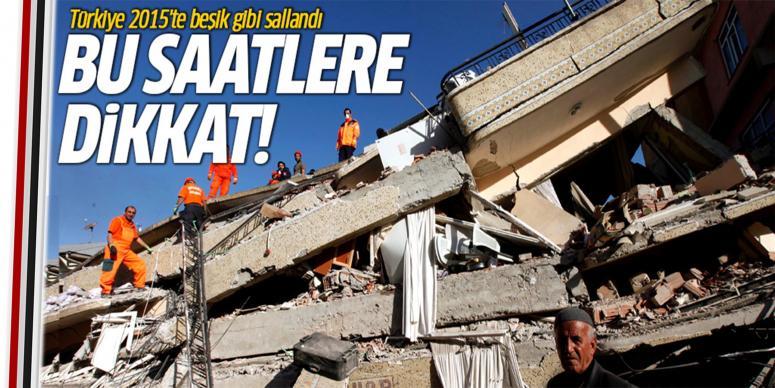 Türkiye 2015'te beşik gibi sallandı