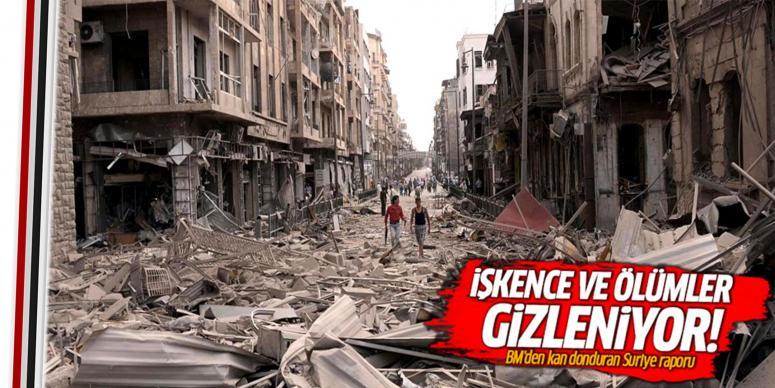 BM'den kan donduran Suriye raporu
