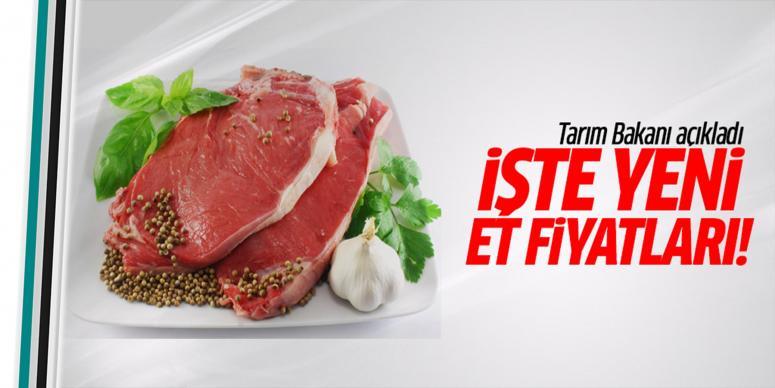 Tarım Bakanı Faruk Çelik'ten et fiyatını açıkladı