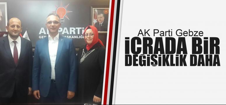 Ak Parti Gebze'de icra değişti