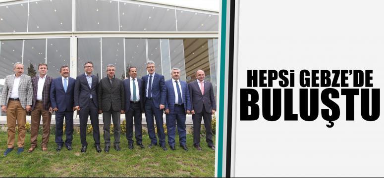 Başkanlar Köşker'in konuğu