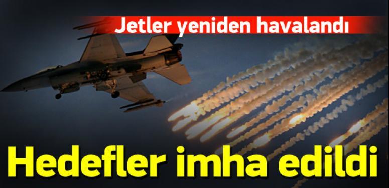 PKK'ya yeniden hava harekatı!