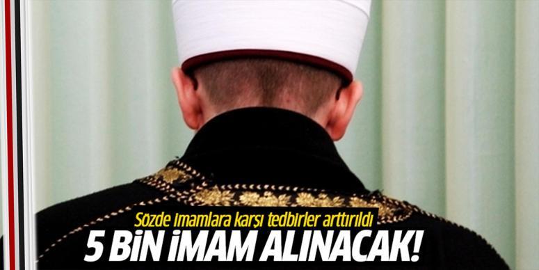 5 bin imam alınacak!