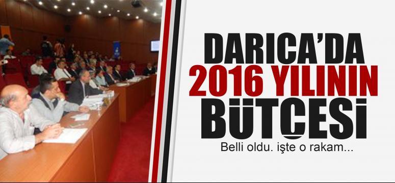 Darıca'nın 2016 bütçesi belli oldu