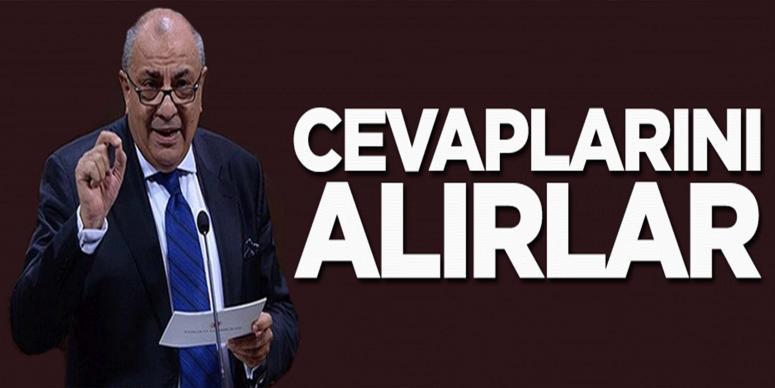 Tuğrul Türkeş: Cevaplarını alırlar