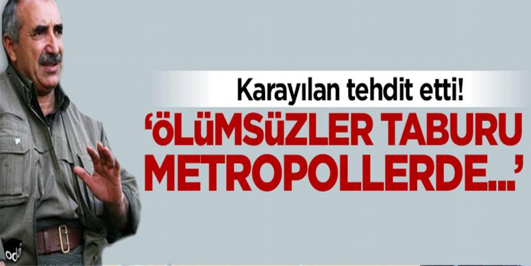 'Metropollere saldırırız'
