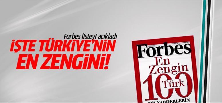 İşte Türkiye'nin en zengini