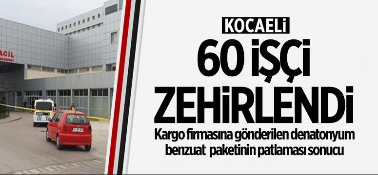 Kocaeli'de 60 işçi zehirlendi