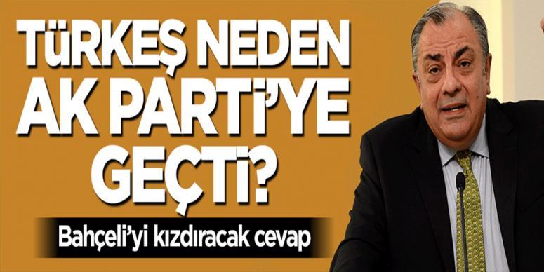 Tuğrul Türkeş'ten Devlet Bahçeli'yi kızdıracak cevap