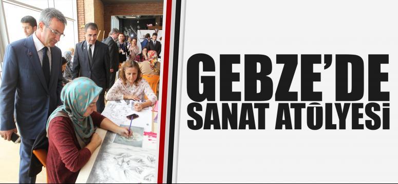 GESMEK Sanat Atölyesi sergisi açıldı